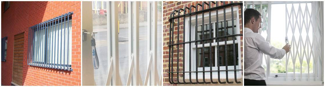 Bars, Grilles, Gates and Roller Shutters